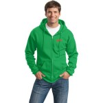 PC78ZH Port & Company Unisex Classic Full-Zip Hooded Sweatshirt